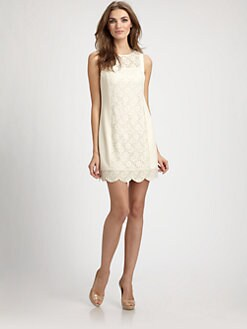 Ali Ro - Lace Panel Dress