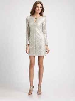 Trina Turk - Lace Keyhole Dress