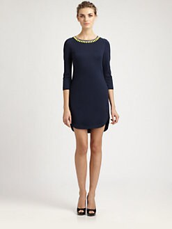 Trina Turk - Beaded Ponte Dress