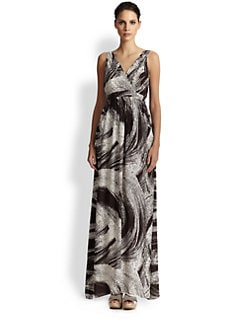 Shoshanna - Reagan Silk Maxi Dress