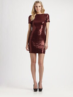Ali Ro - Sequin Scoop-Back Dress