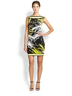 Trina Turk - Abstract-Print Jersey Dress