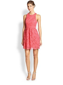 Trina Turk - Sleeveless Lace Dress