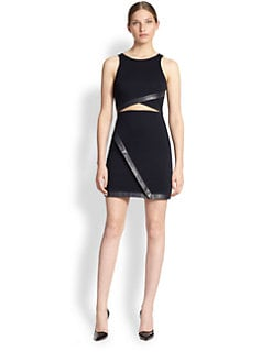 Bailey 44 - Cut-Out Jersey Sheath Dress