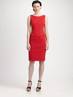 David Meister - Cotton Piqu&eacute; Day Dress