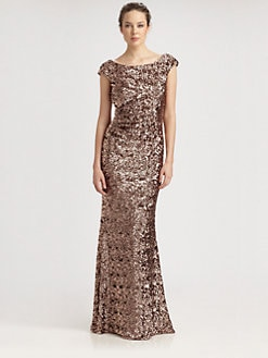 David Meister - Sequined Gown