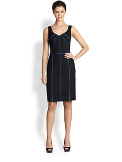 David Meister - Colorblock Sheath Dress