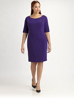Tahari Woman, Salon Z - Pepita Dress