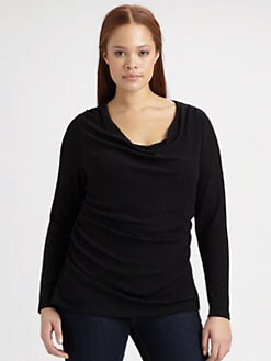 Tahari Woman, Salon Z - Rosalina Silk Blouse