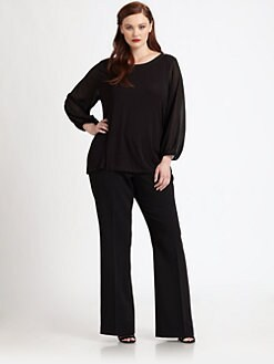 Tahari Woman, Salon Z - Swan Top