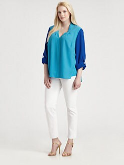 Tahari Woman, Salon Z - Edie Blouse