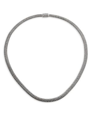 Classic Chain Sterling Silver Extra-Small Necklace
