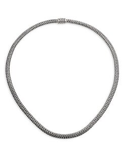 John Hardy - Sterling Silver Cable Necklace