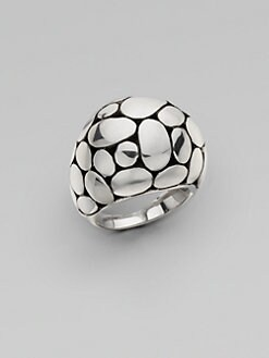 John Hardy - Sterling Silver Dome Ring
