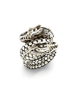 John Hardy - Sterling Silver Dragon Ring