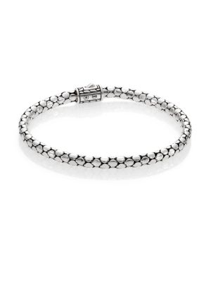 Dot Sterling Silver Slim Bracelet