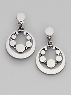 John Hardy - Sterling Silver Round Drop Earrings