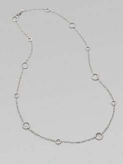 John Hardy - Sterling Silver Circle Link Necklace
