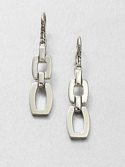 John Hardy - Sterling Silver Link Earrings