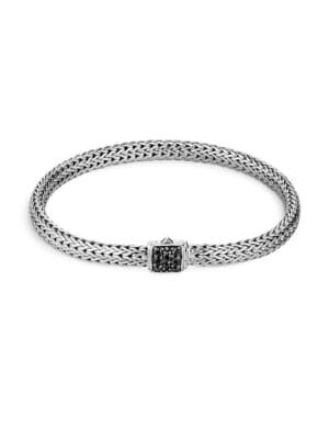 Classic Chain Gemstone & Sterling Silver Extra-Small Bracelet