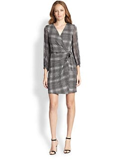 Diane von Furstenberg - Sigourney Silk Printed Wrap Dress