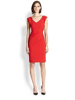 Diane von Furstenberg - Bevin Asymmetrical Gathered Dress