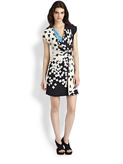 Diane von Furstenberg - Porsha Silk Dress