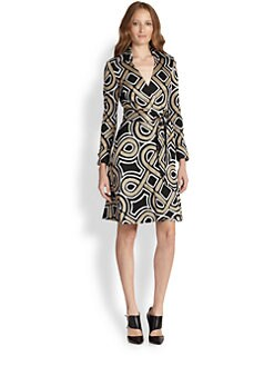 Diane von Furstenberg - Bruna Printed Wrap Dress