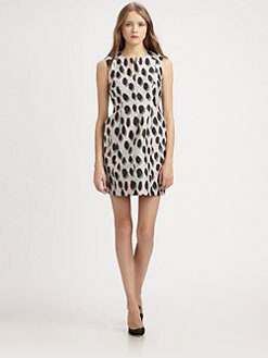 Diane von Furstenberg - New Summer Mini Dots Dress