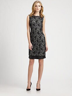 Diane von Furstenberg - Tilda Shadow Dot Lace Dress