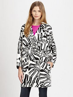 Diane von Furstenberg - Laurel Canvas Coat