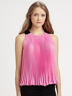 Diane von Furstenberg - Idaline Pleated Top