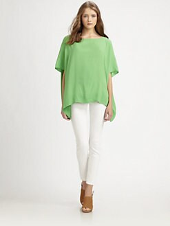 Diane von Furstenberg - New Hanky Silk Top