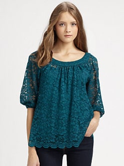 Diane von Furstenberg - Elisabetta Lace Top