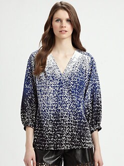 Diane von Furstenberg - New Cahil Stretch-Silk Blouse
