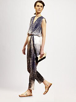 Diane von Furstenberg - Kawena Silk Jumpsuit