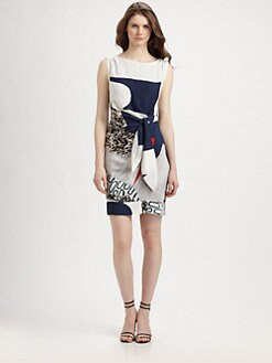 Diane von Furstenberg - New Della Stretch-Silk Dress