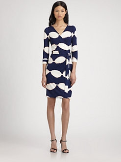 Diane von Furstenberg - New Julian Two Silk Wrap Dress