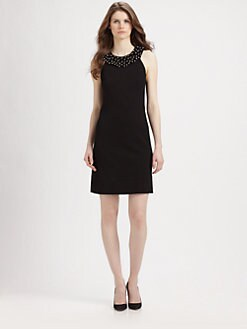 Diane von Furstenberg - Ceecee Beaded Shift Dress