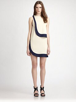Diane von Furstenberg - Rob Two-Tone Dress