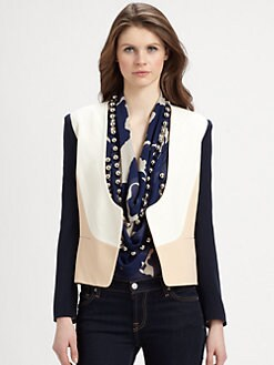 Diane von Furstenberg - Feriha Colorblock Jacket
