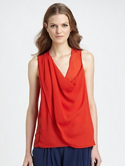 Diane von Furstenberg - Kaplua Cowlneck Top