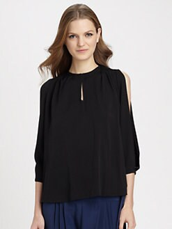 Diane von Furstenberg - Astor Stretch-Silk Top