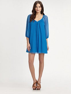 Diane von Furstenberg - Fenobe Silk Georgette Dress