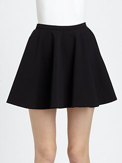Diane von Furstenberg - Bethany Pleated A-Line Skirt
