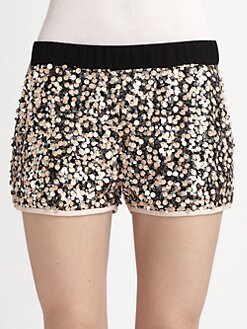 Diane von Furstenberg - Suki Sequined Shorts