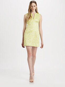Diane von Furstenberg - Sandine Jacquard Sheath Dress