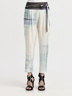 Diane von Furstenberg - Keaka Pleated Silk Pants