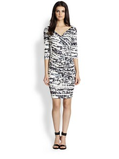 Diane von Furstenberg - Bentley Printed Silk Jersey Dress