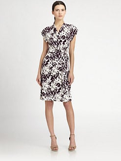 Diane von Furstenberg - Mindy Silk Jersey Wrap Dress